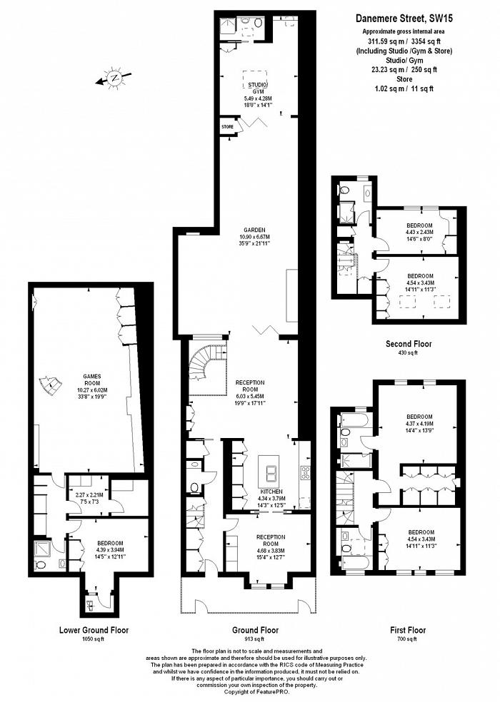 Danemere Street, West Putney, SW15 Floorplan