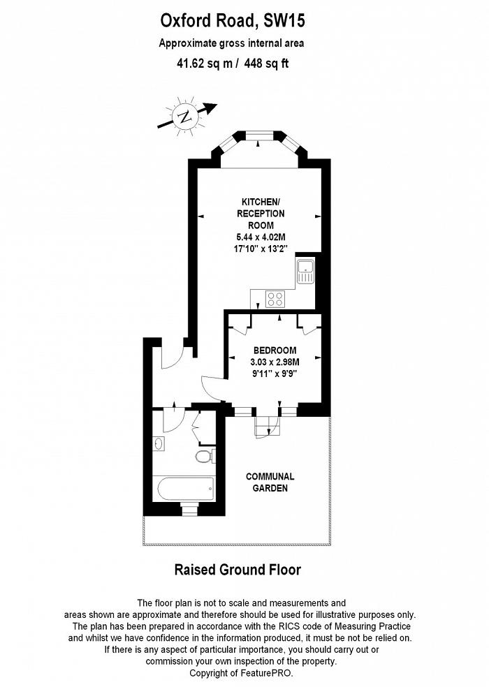 Oxford Road, East Putney, SW15 Floorplan