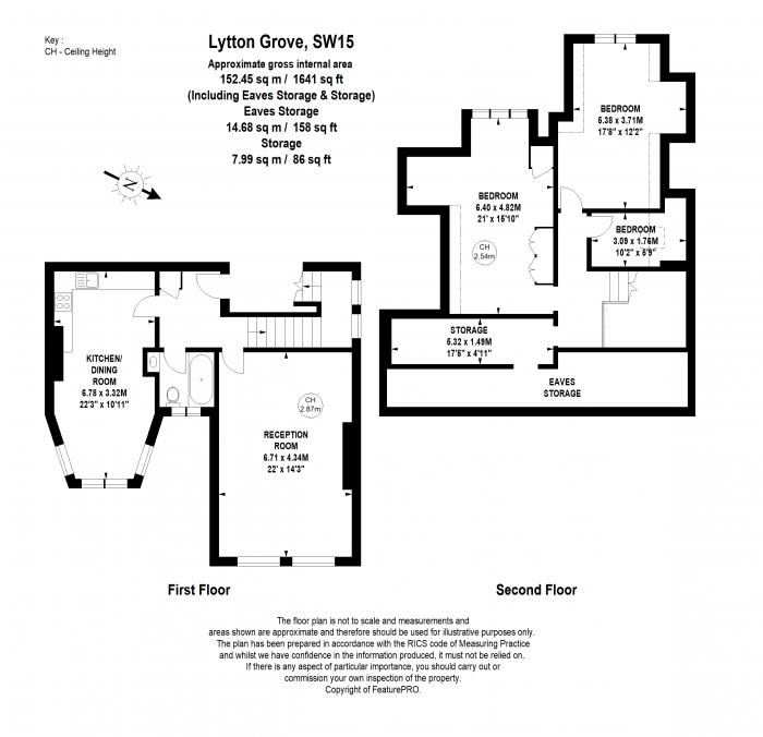 Lytton Grove, Putney, SW15 Floorplan