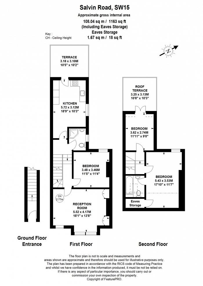 Salvin Road, West Putney, SW15 Floorplan