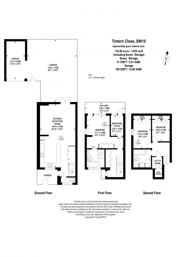 Tintern Close, Putney Hill, SW15 Floorplan