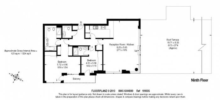 Flotilla House, Battersea Reach, SW18 Floorplan