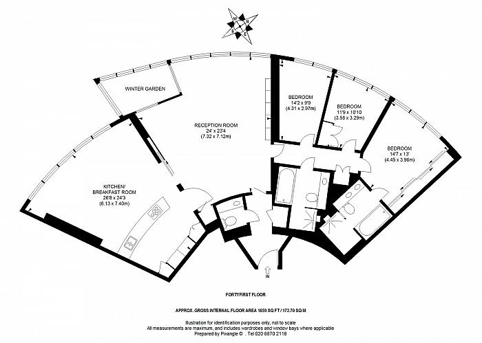 St. George Wharf, Nine Elms Lane, SW8 Floorplan
