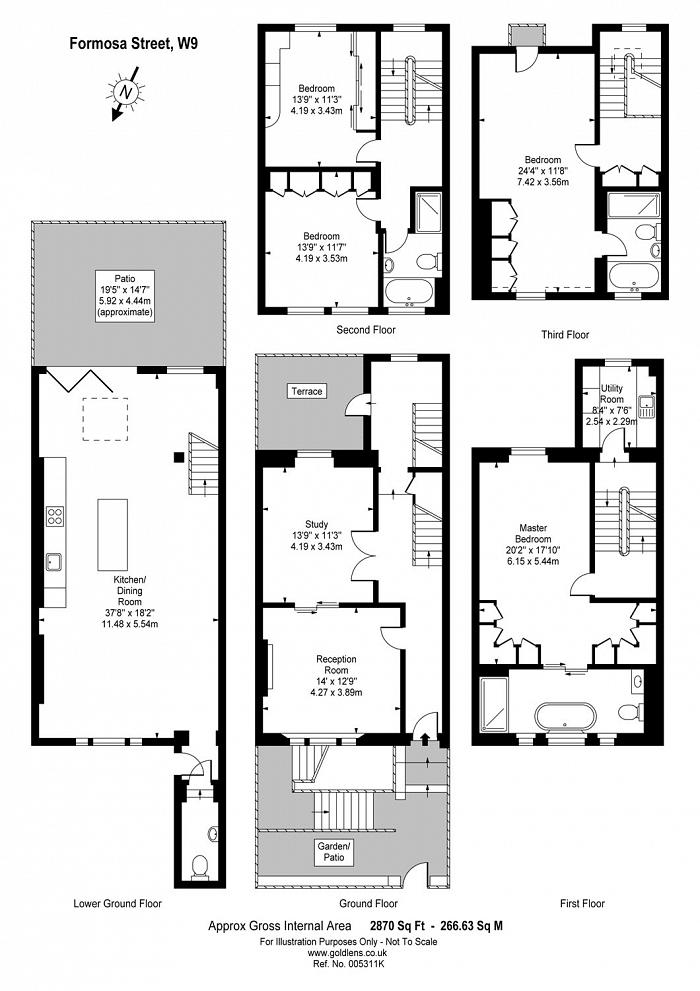 Formosa Street, Little Venice, W9 Floorplan