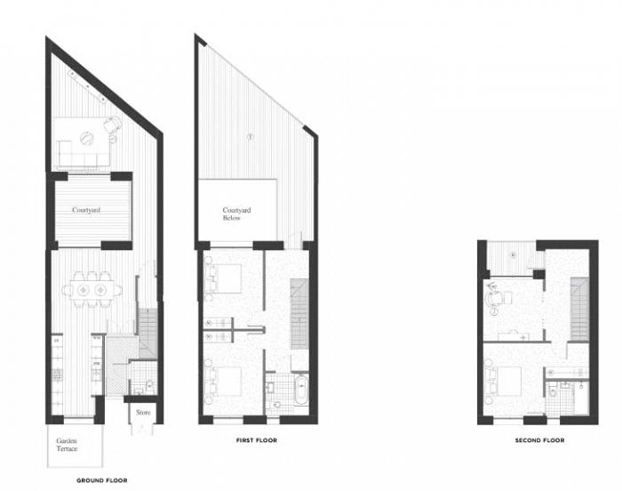 Starboard Town House, Royal Wharf, E16 Floorplan