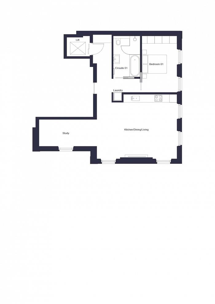 Southwell Gardens, South Kensington, SW7 Floorplan
