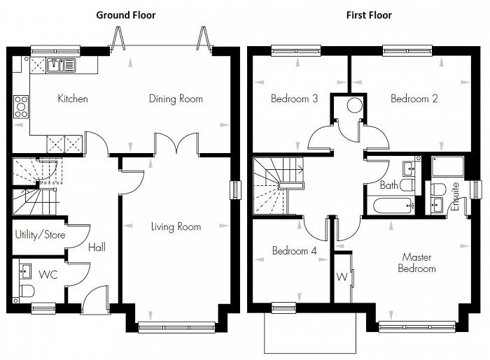 Rushgrove Avenue, Colindale, NW9 Floorplan