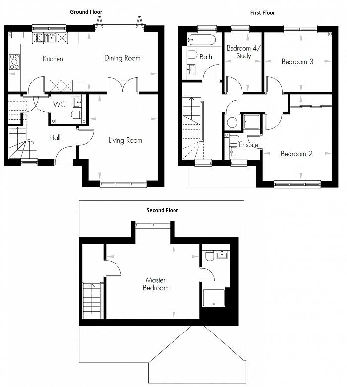 Rookery Close, Colindale, NW9 Floorplan