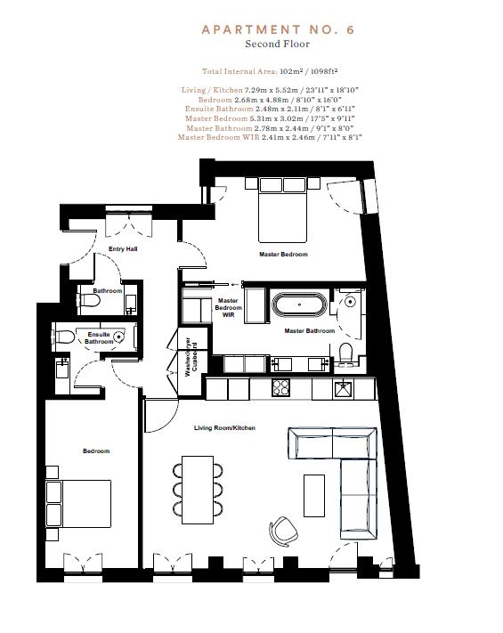 Adelphi Terrace, 13-15 John Adam Street, WC2N Floorplan