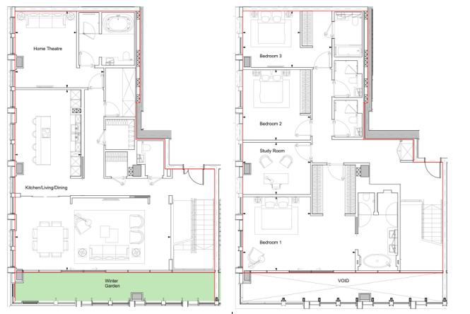 Damac Tower, 71 Bondway, SW8 Floorplan