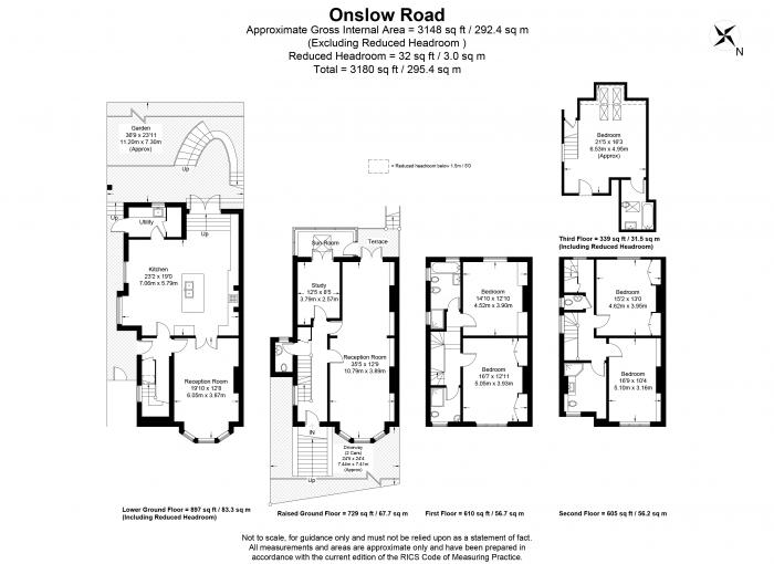 Onslow Road, Richmond, TW10 Floorplan