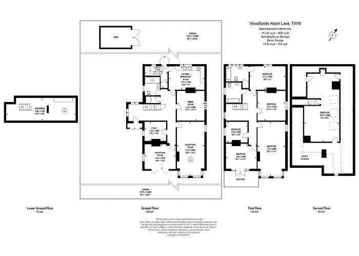 Hazel Lane, Richmond, TW10 Floorplan