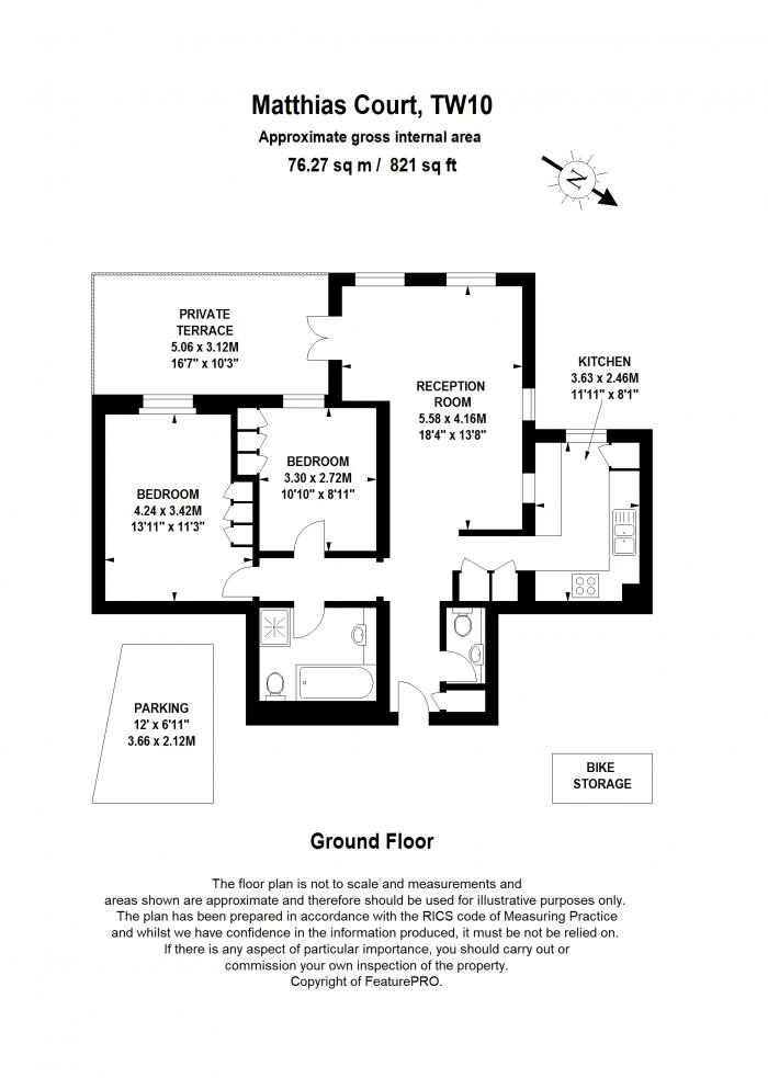 Matthias Court, Mount Ararat Road, TW10 Floorplan
