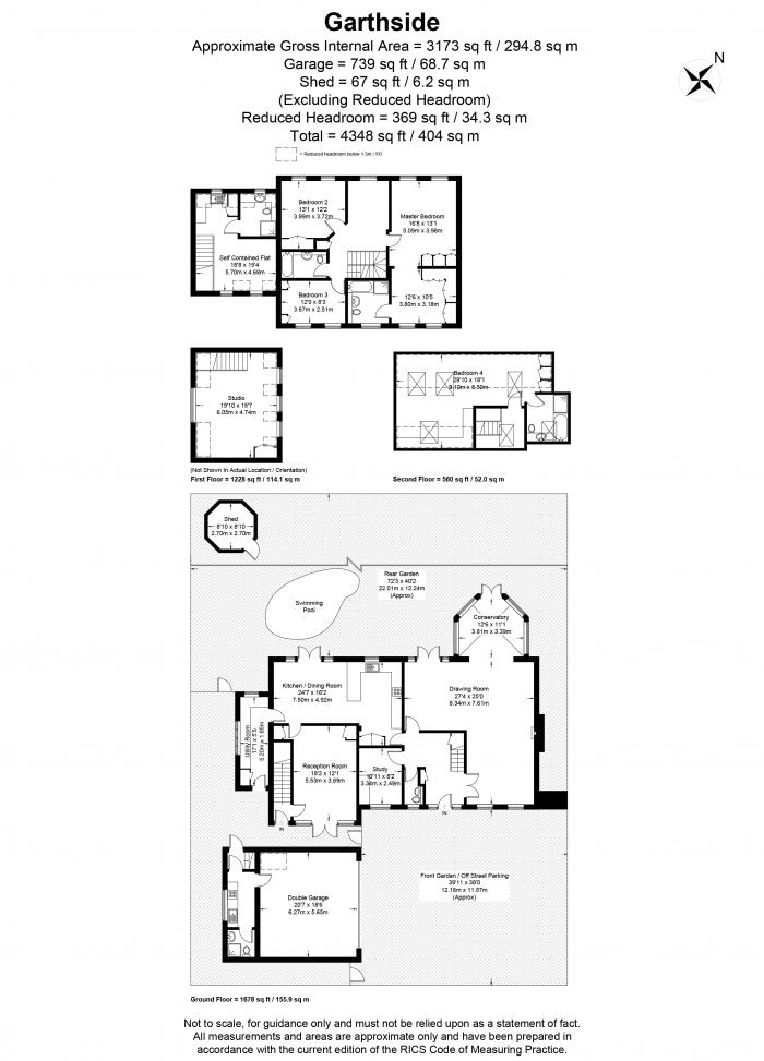 Garthside, Church Road, TW10 Floorplan