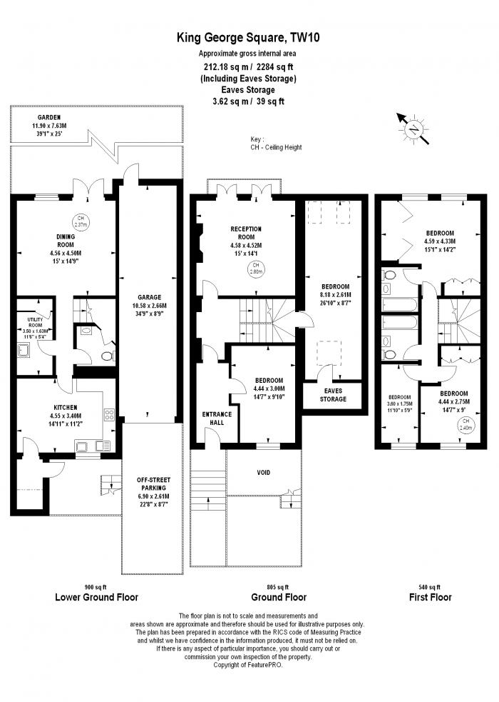King George Square, Richmond, TW10 Floorplan