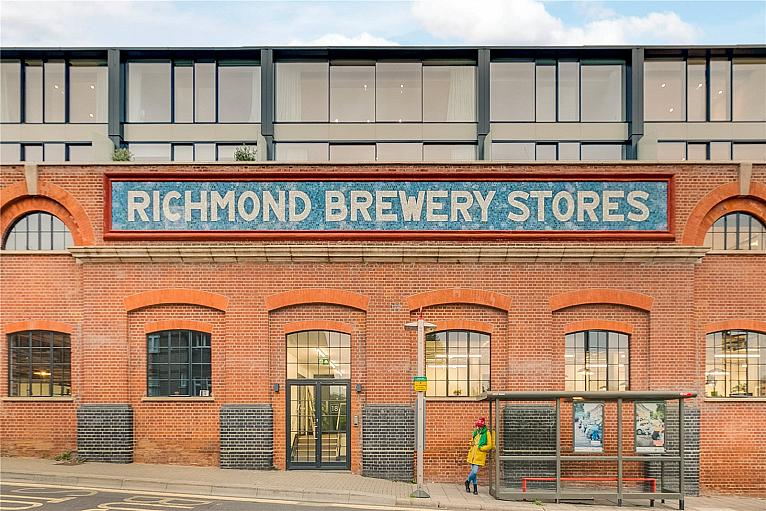 Richmond Brewery Stores, 18 Petersham Road, TW10