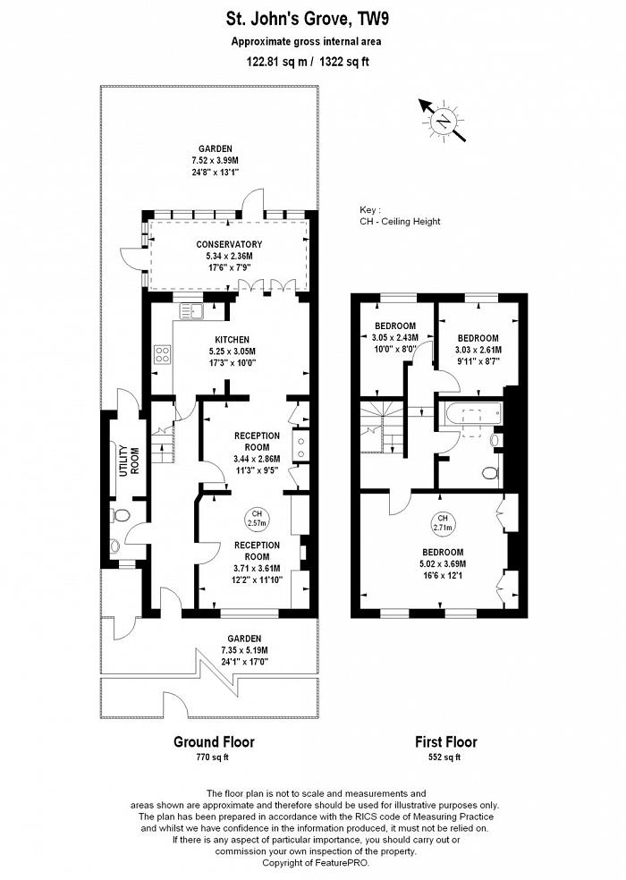 St Johns Grove, Richmond, TW9 Floorplan
