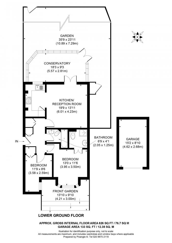 Marlborough Road, Richmond, TW10 Floorplan