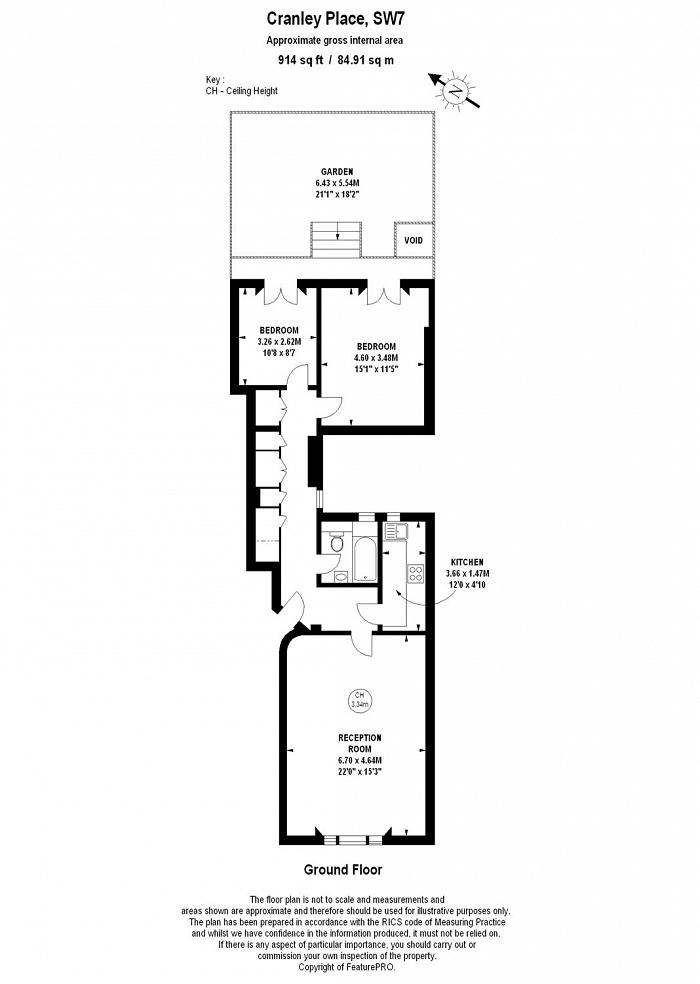 Cranley Place, South Kensington, SW7 Floorplan