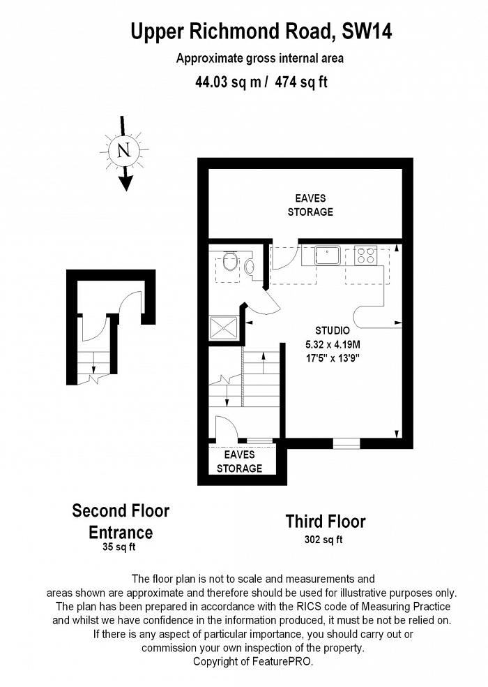 Upper Richmond Road West, East Sheen, SW14 Floorplan