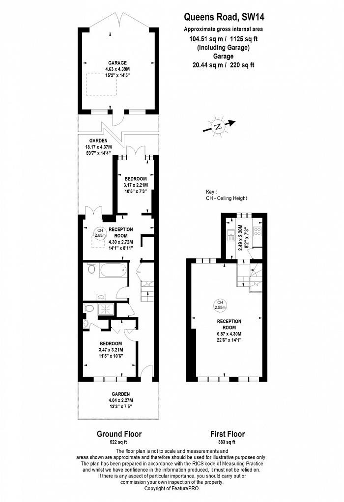 Queens Road, Mortlake, SW14 Floorplan