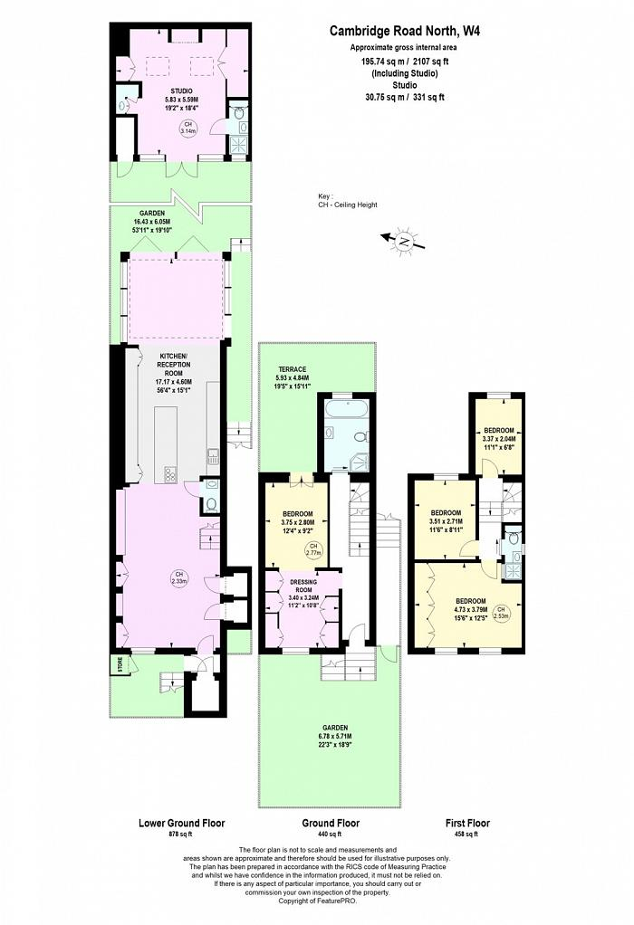 Cambridge Road North, Chiswick, W4 Floorplan