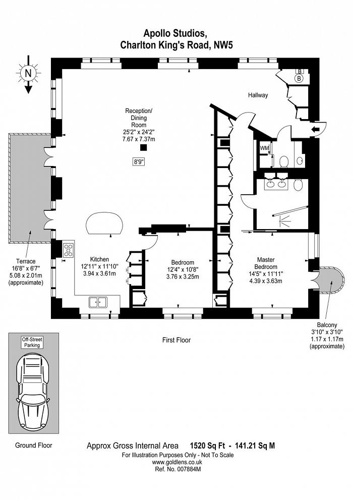Charlton King's Road, Kentish Town, NW5 Floorplan