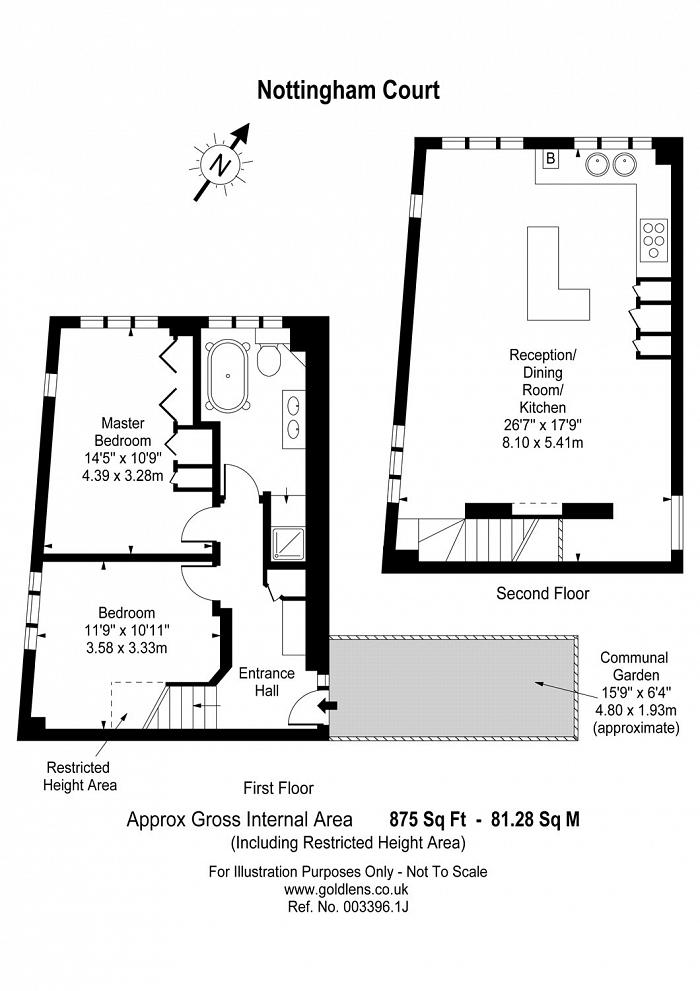 Nottingham Court, Covent Garden, WC2H Floorplan