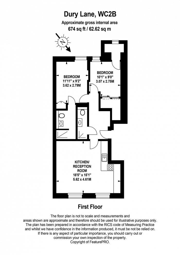 Drury Lane, Covent Garden, WC2B Floorplan