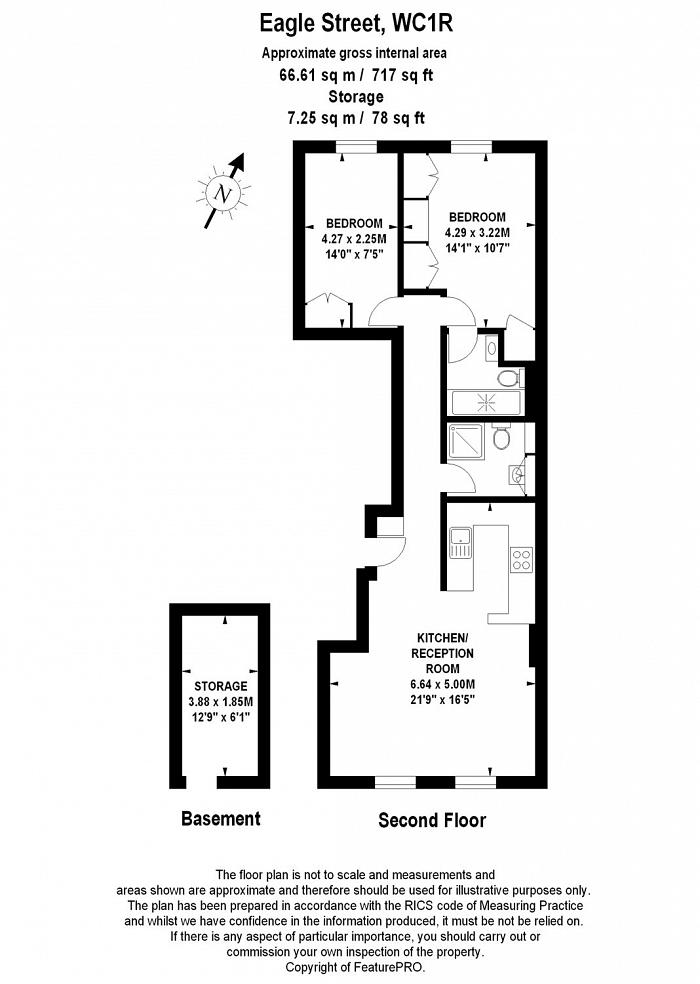Eagle Street, Holborn, WC1R Floorplan