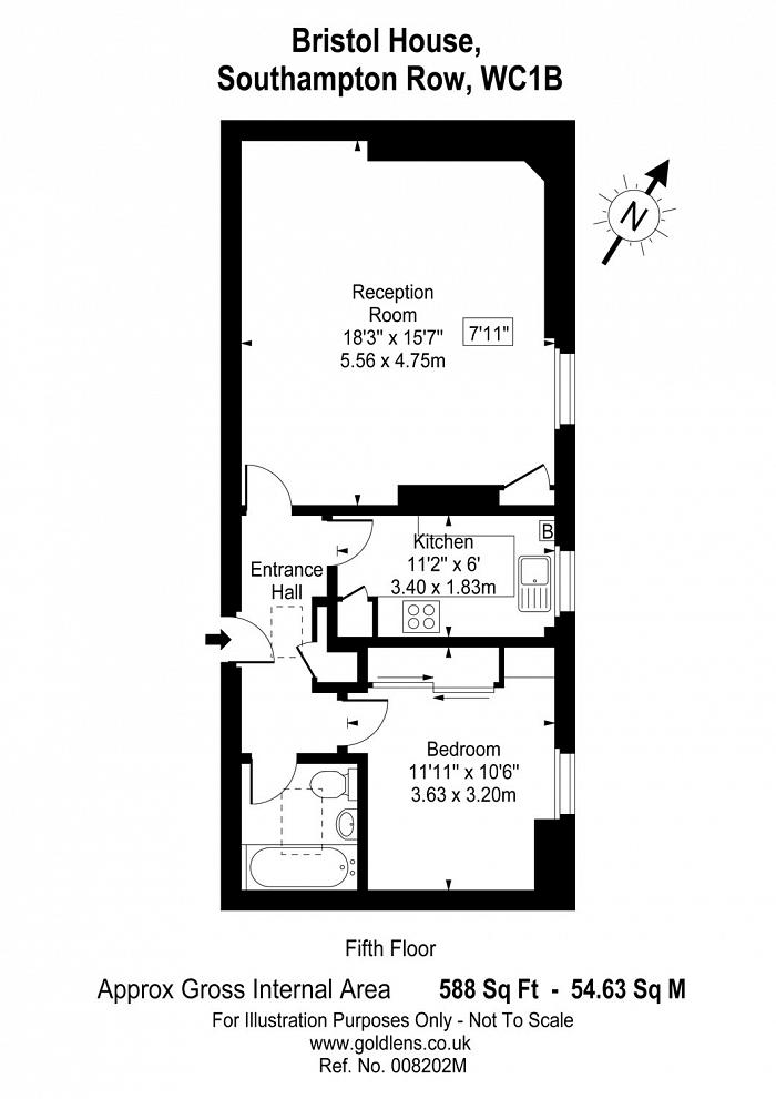 Bristol House, Southampton Row, WC1B Floorplan