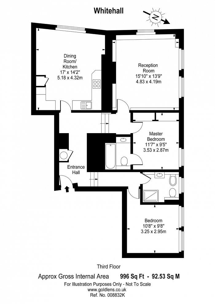 Whitehall, Westminster, SW1A Floorplan