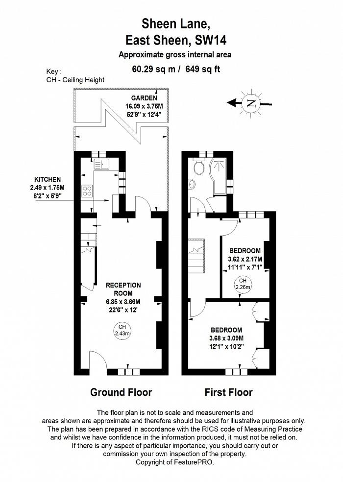 Sheen Lane, Mortlake, SW14 Floorplan