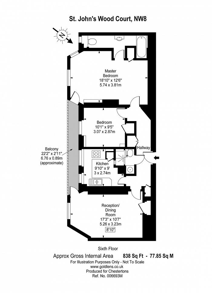 St John's Wood Court, St. John's Wood Road, NW8 Floorplan