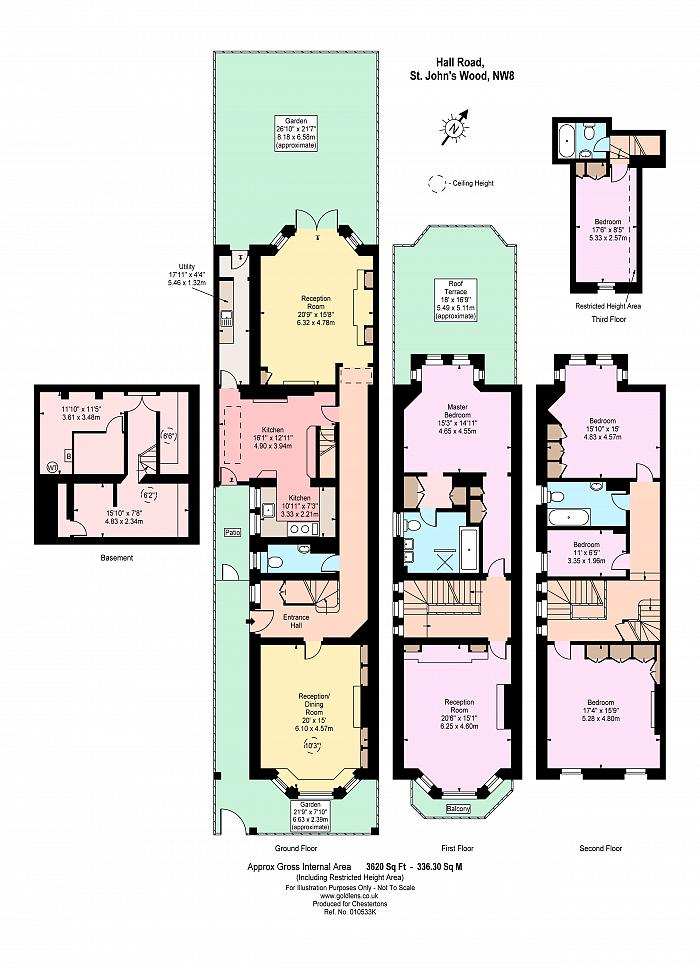 Hall Road, St John's Wood, NW8 Floorplan