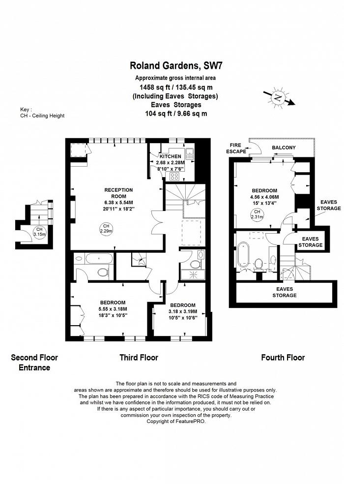 Roland Gardens, South Kensington, SW7 Floorplan