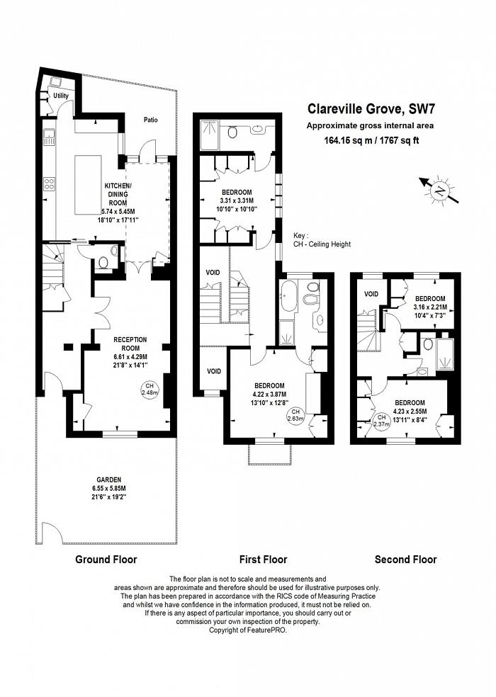Clareville Grove, South Kensington, SW7 Floorplan