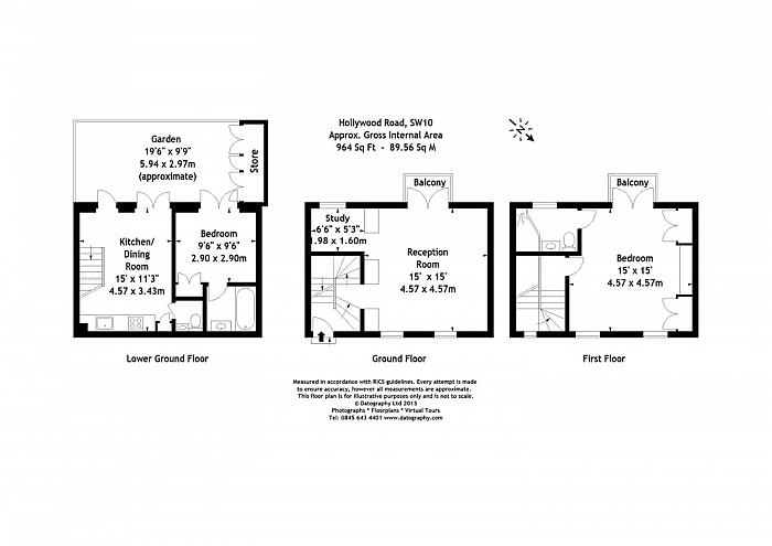 Hollywood Road, Chelsea, SW10 Floorplan