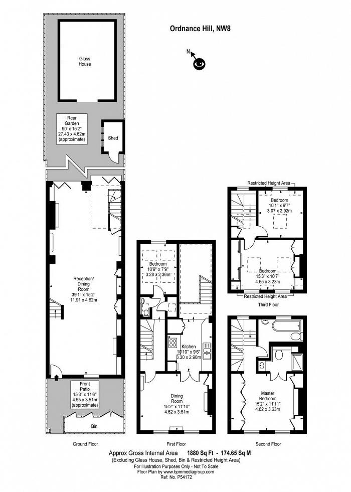 Ordnance Hill, St Johns Wood, NW8 Floorplan