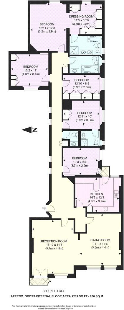 Hanover House, St. Johns Wood High Street, NW8 Floorplan