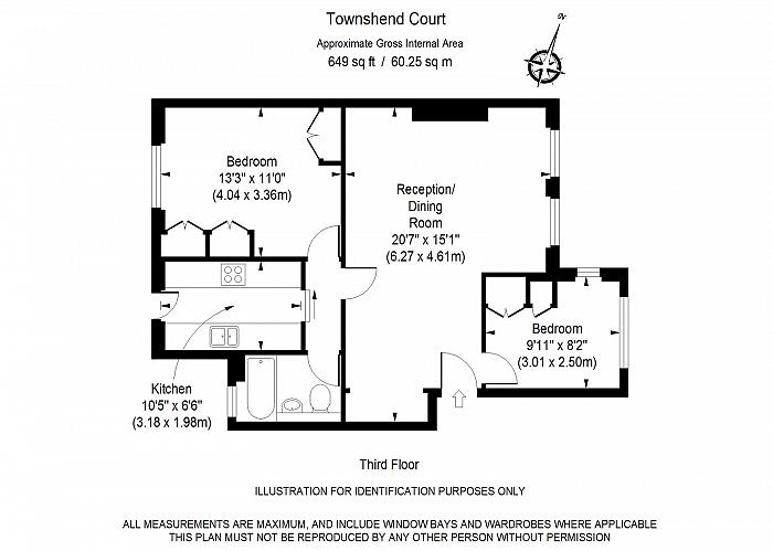Townshend Court, St John's Wood, NW8 Floorplan