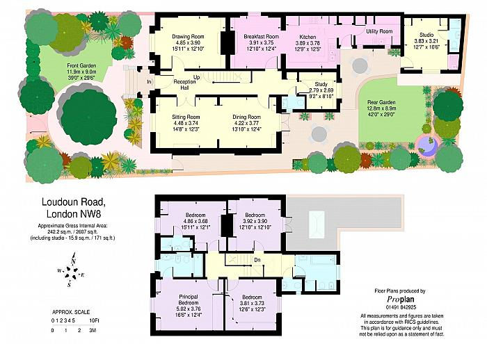 Loudoun Road, St John's Wood, NW8 Floorplan