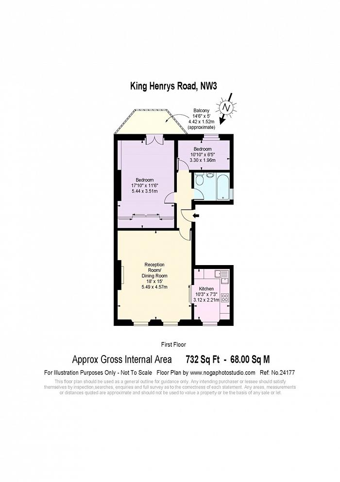 King Henrys Road, Primrose Hill, NW3 Floorplan