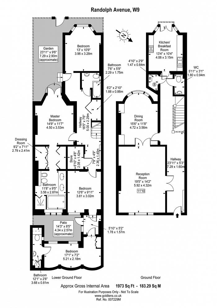 Randolph Avenue, Little Venice, W9 Floorplan