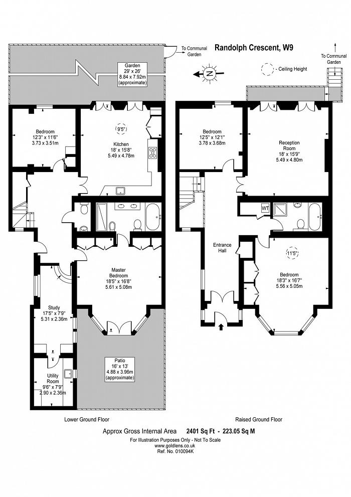 Randolph Crescent, Little Venice, W9 Floorplan