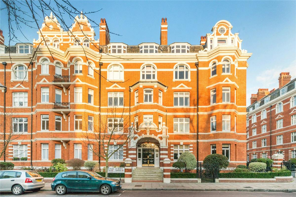 St Mary's Mansions, St Mary's Terrace, W2
