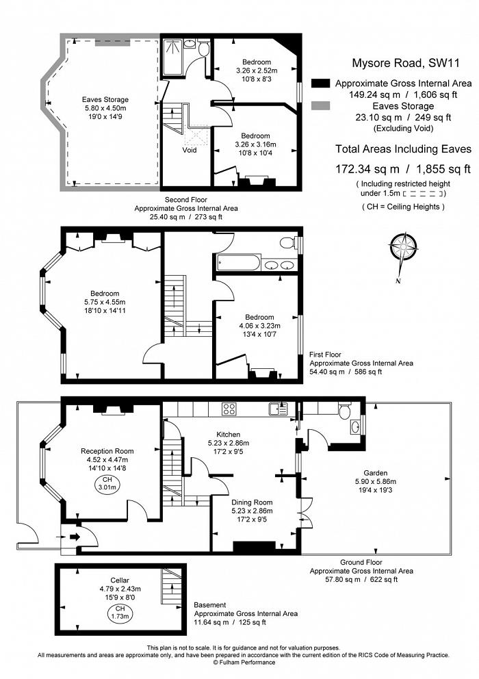Mysore Road, Clapham Common, SW11 Floorplan