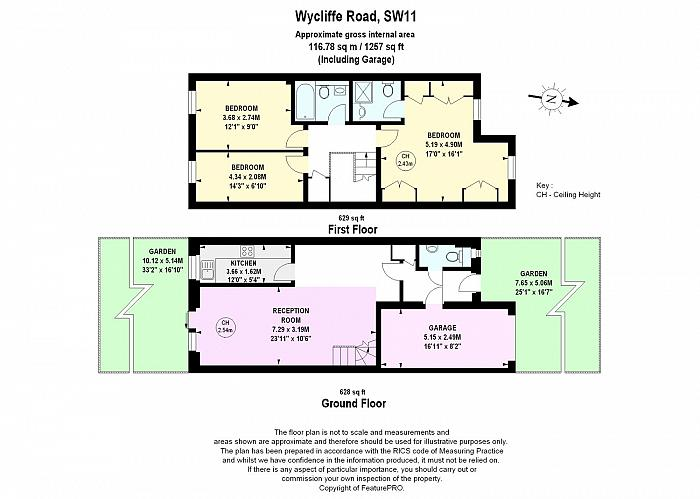 Wycliffe Road, The Shaftesbury Estate, SW11 Floorplan