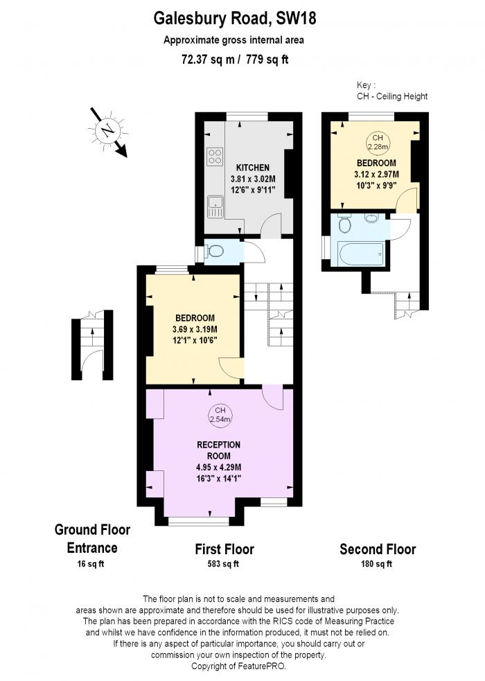 Galesbury Road, Wandsworth, SW18 Floorplan