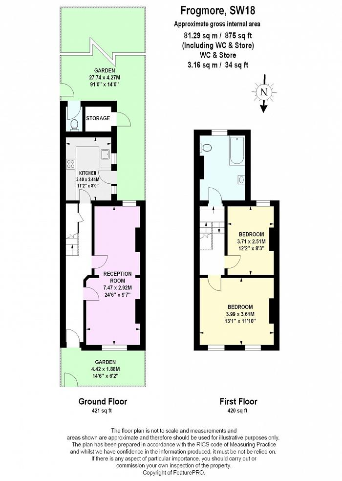 Frogmore, Wandsworth, SW18, SW18 Floorplan